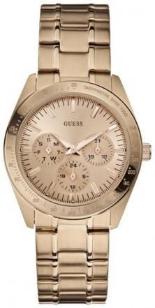 Karóra Guess Feminine Dress Rose Gold U13623L1