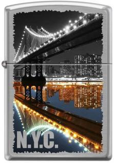 Öngyújtó Zippo New York City Manhattan Bridge 7841