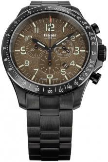 Karóra P67 Officer Pro Chronograph Khaki Steel 109460