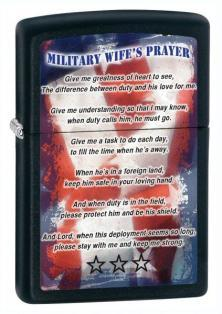 Öngyújtó Zippo Military Wife Prayer 26418