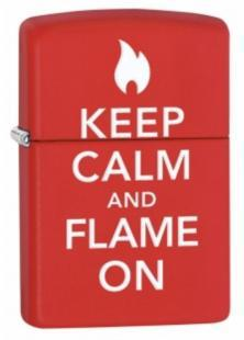 Öngyújtó Zippo Keep Calm And Flame On 28671