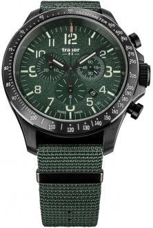 Karóra P67 Officer Pro Chronograph Khaki Steel 109463