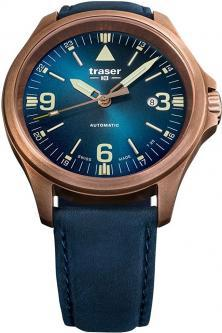 Karóra Traser P67 Officer Pro Automatic Bronze Blue 108074