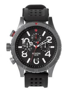 Karóra Nixon 48-20 Chrono P Gunmetal/Black/Red A278 1426