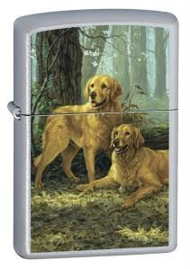 Öngyújtó Zippo LP - Two Golden Retrievers 20259