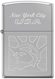 Öngyújtó Zippo Statue of Liberty New York 2118
