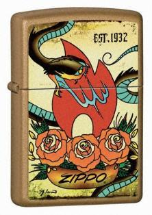 Öngyújtó Zippo Tattoo - The Traditions Collection 24043