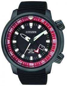 Karóra Citizen BJ7085-09E Eco-Drive GMT Diver