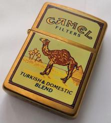 Öngyújtó Zippo Camel Turkish Domestic Blend Brass