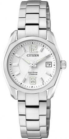 Karóra Citizen EW2101-59B Super Titanium