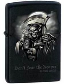 Öngyújtó Zippo Do not Fear the Reaper 0409