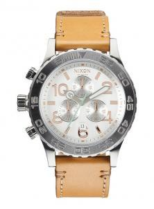 Karóra Nixon 42-20 Chrono Leather Natural/Silver A424 1603