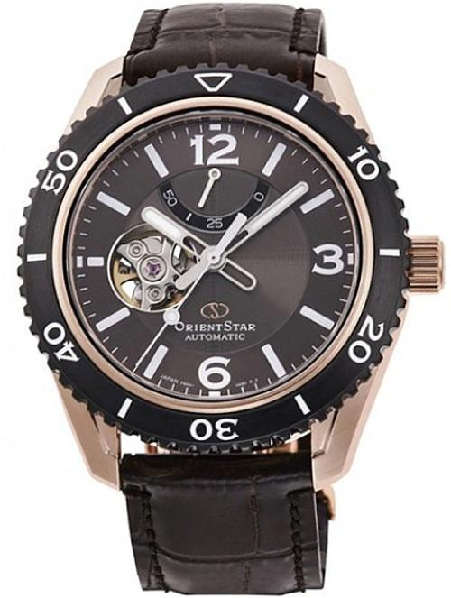Karóra Orient Star RE-AT0103Y00B Open Heart Diver Automatic